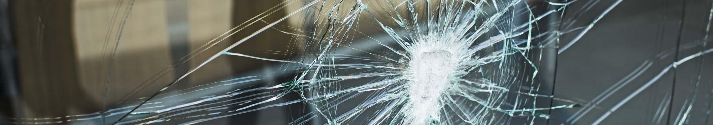 All broken glass reglazed