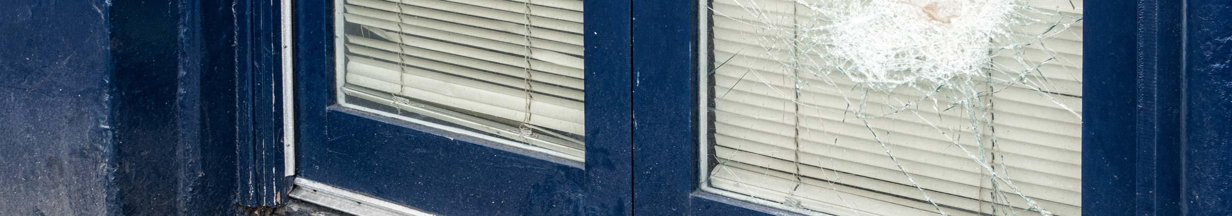 Door panels reglazed