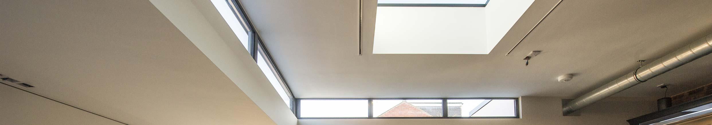 Aluminium Flat Rooflights